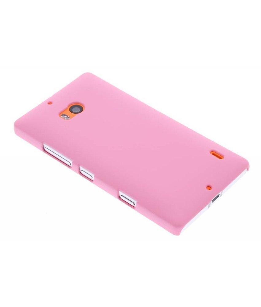 Roze effen hardcase hoesje Nokia Lumia 930