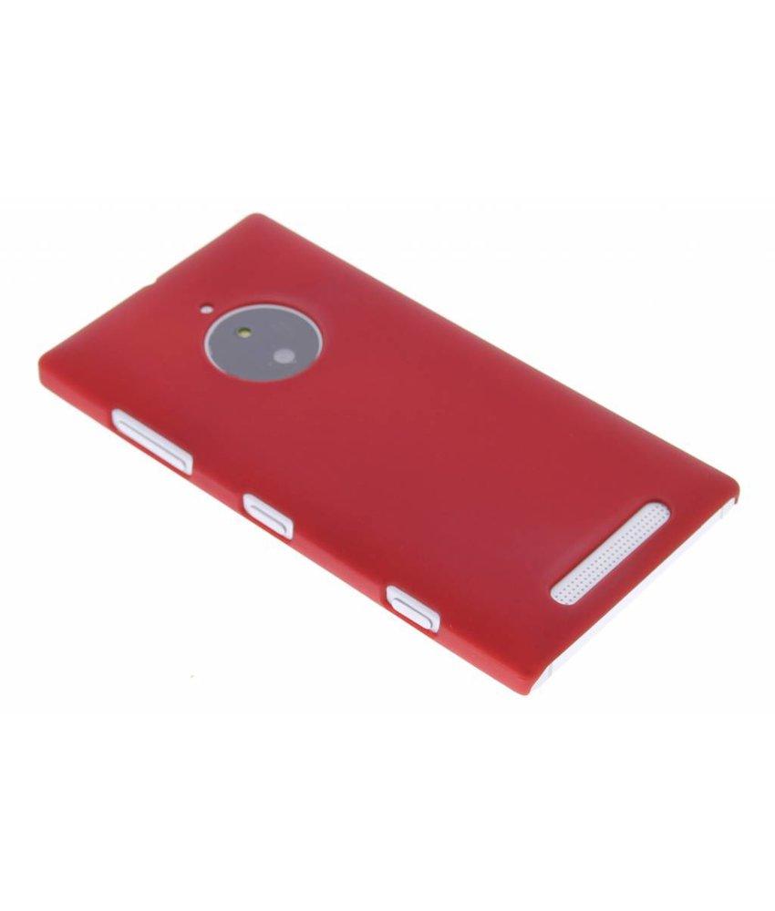 Rood effen hardcase hoesje Nokia Lumia 830