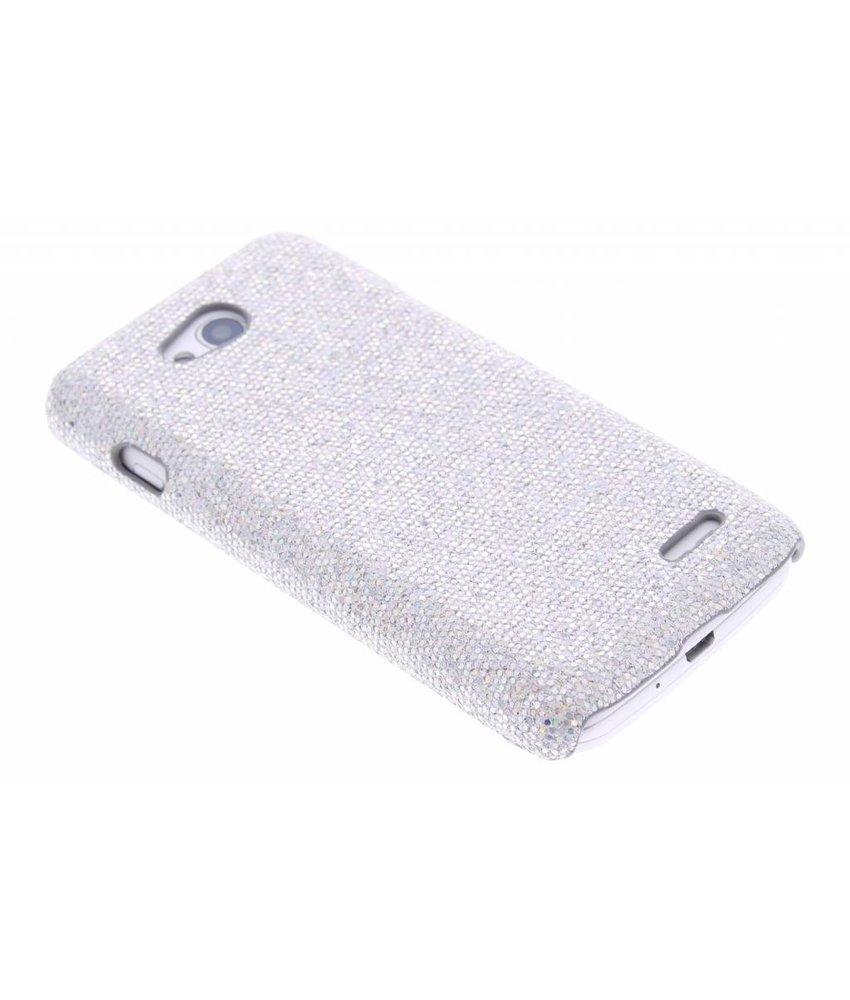 Zilver glamour design hardcase hoesje LG L90