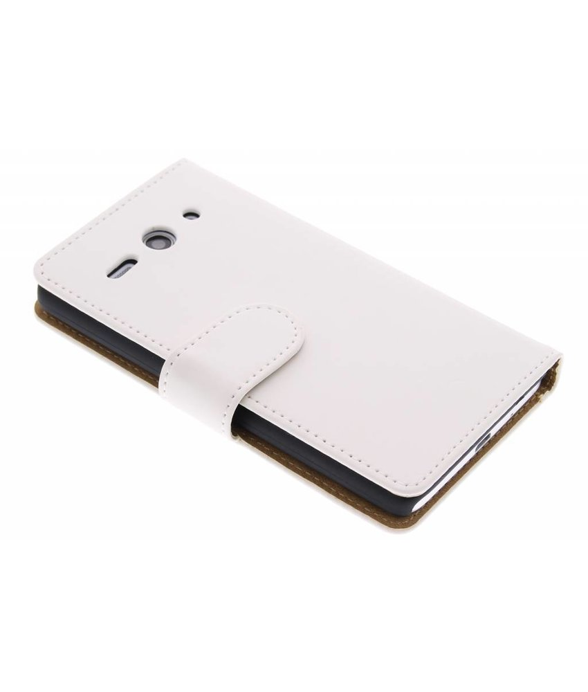 Wit effen booktype Huawei Ascend Y530