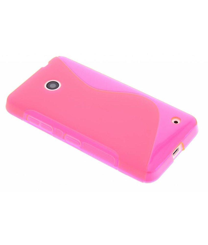 Rosé S-line TPU hoesje Nokia Lumia 630 / 635