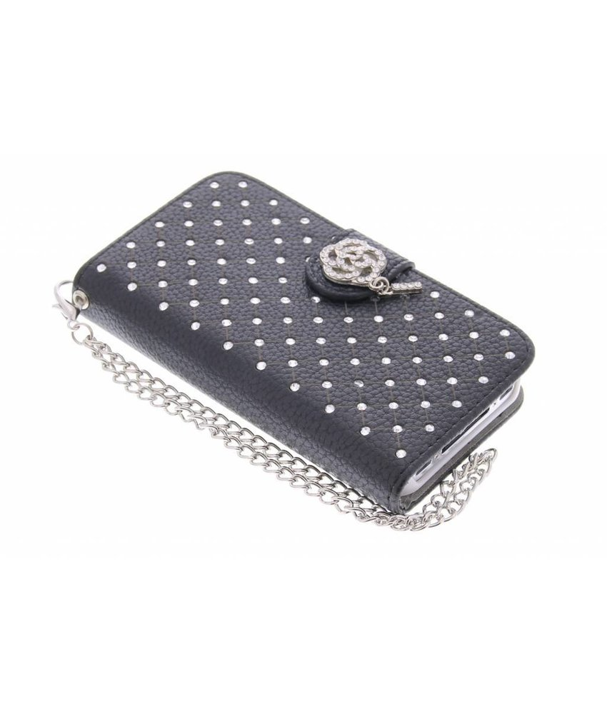 Chique strass booktype hoes iPhone 4 / 4s