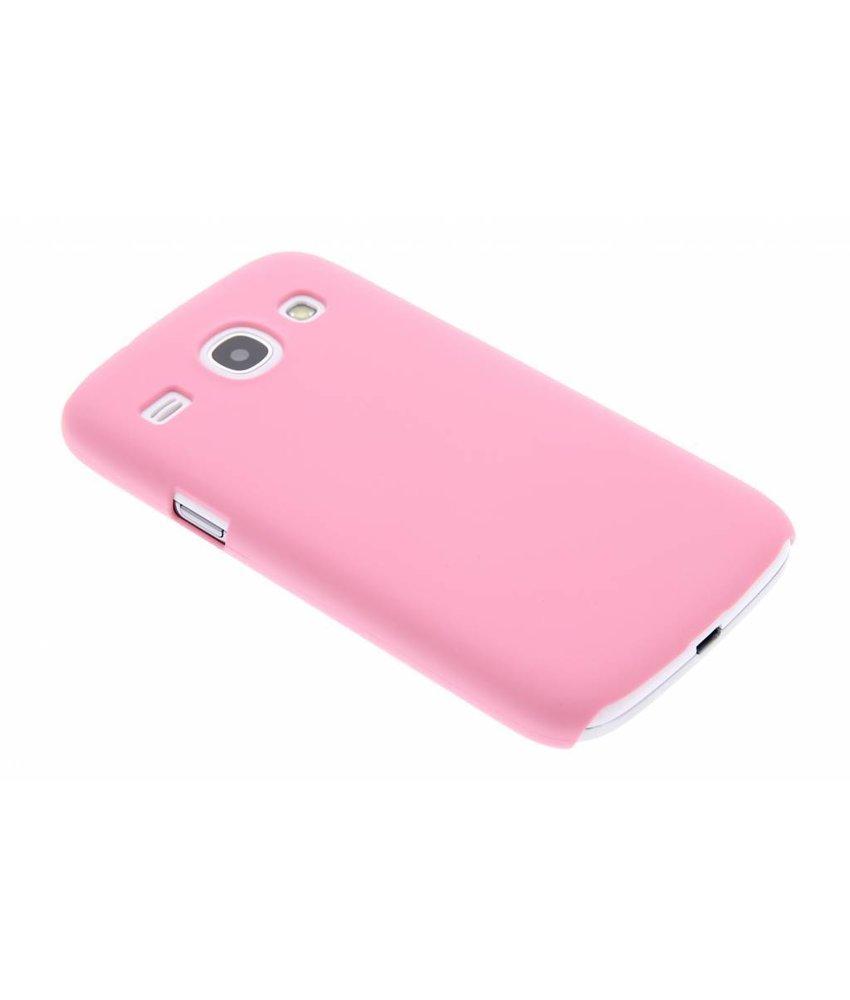 Roze effen hardcase Samsung Galaxy Core