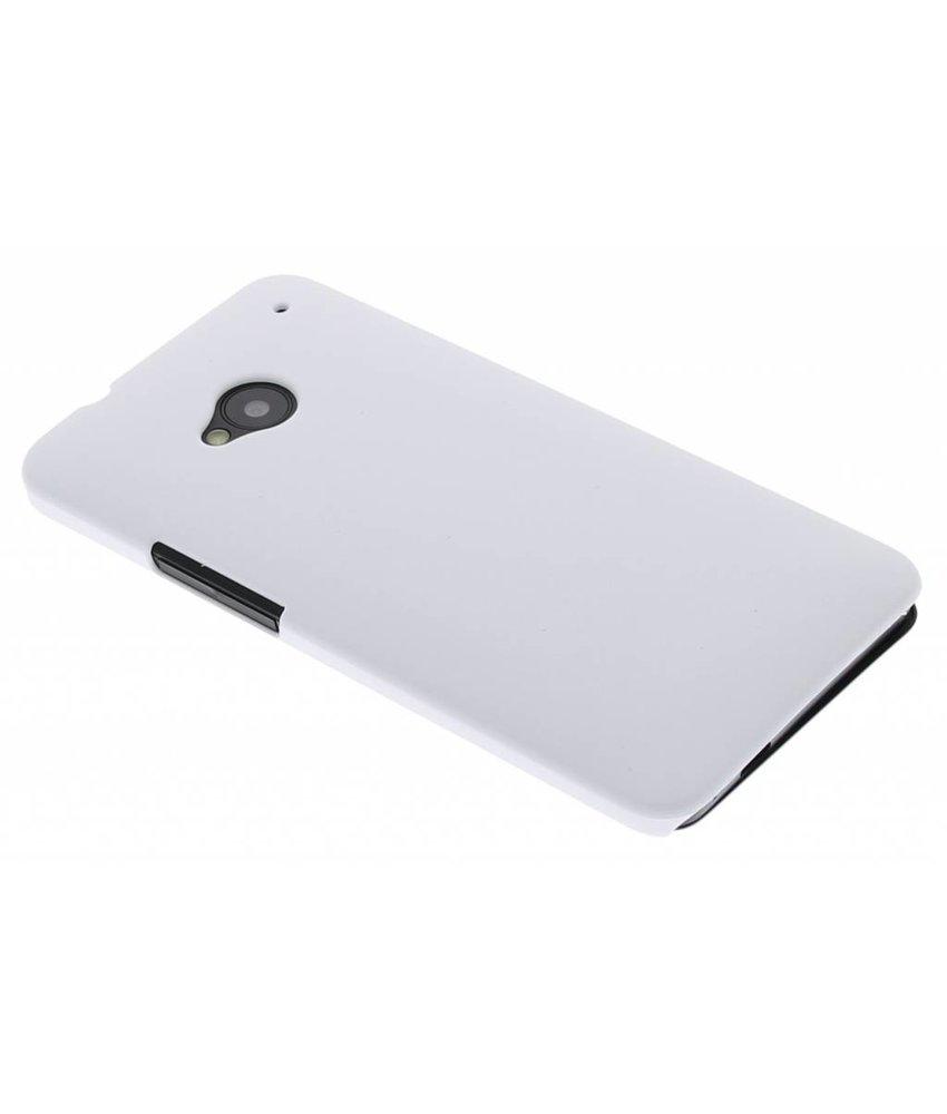 Wit effen hardcase HTC One