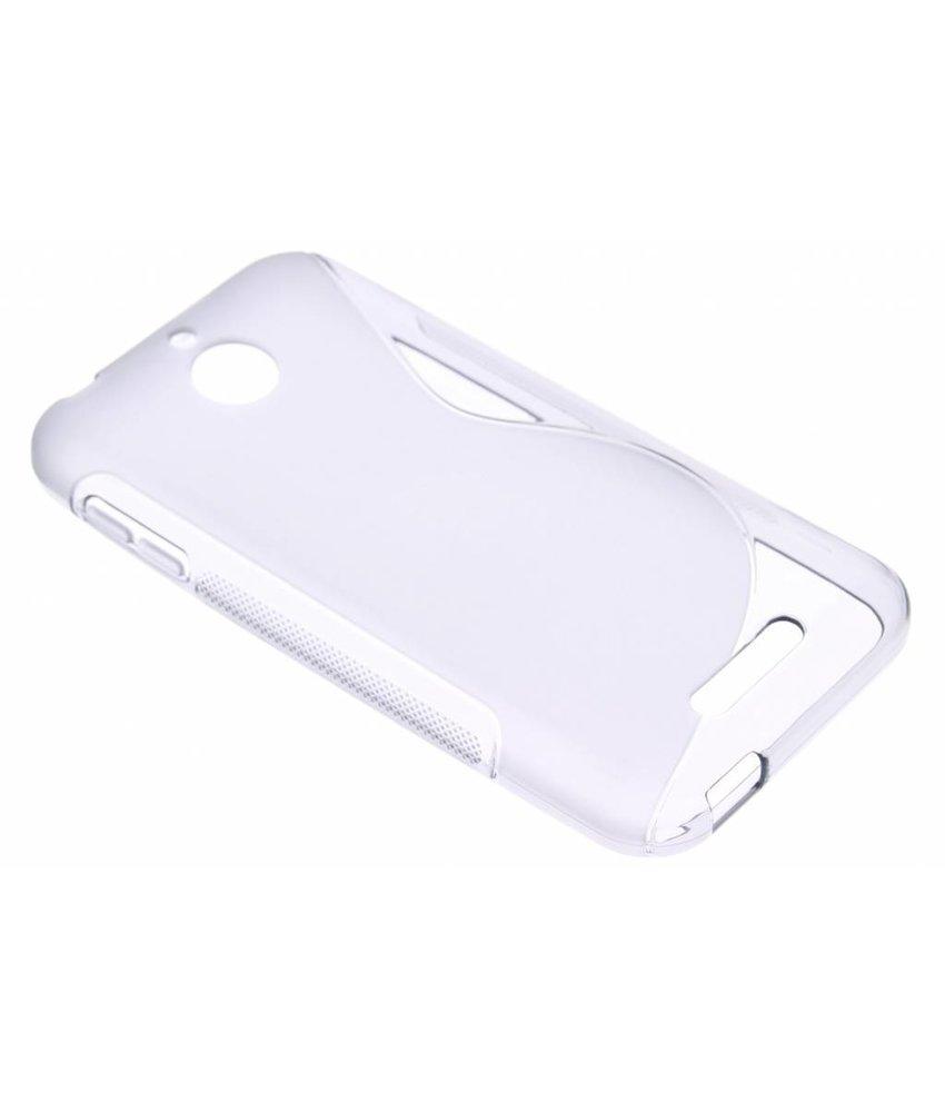 Grijs S-line TPU hoesje HTC Desire 510