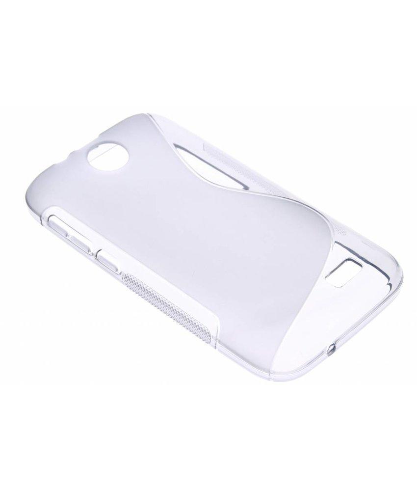 Grijs S-line TPU hoesje HTC Desire 310