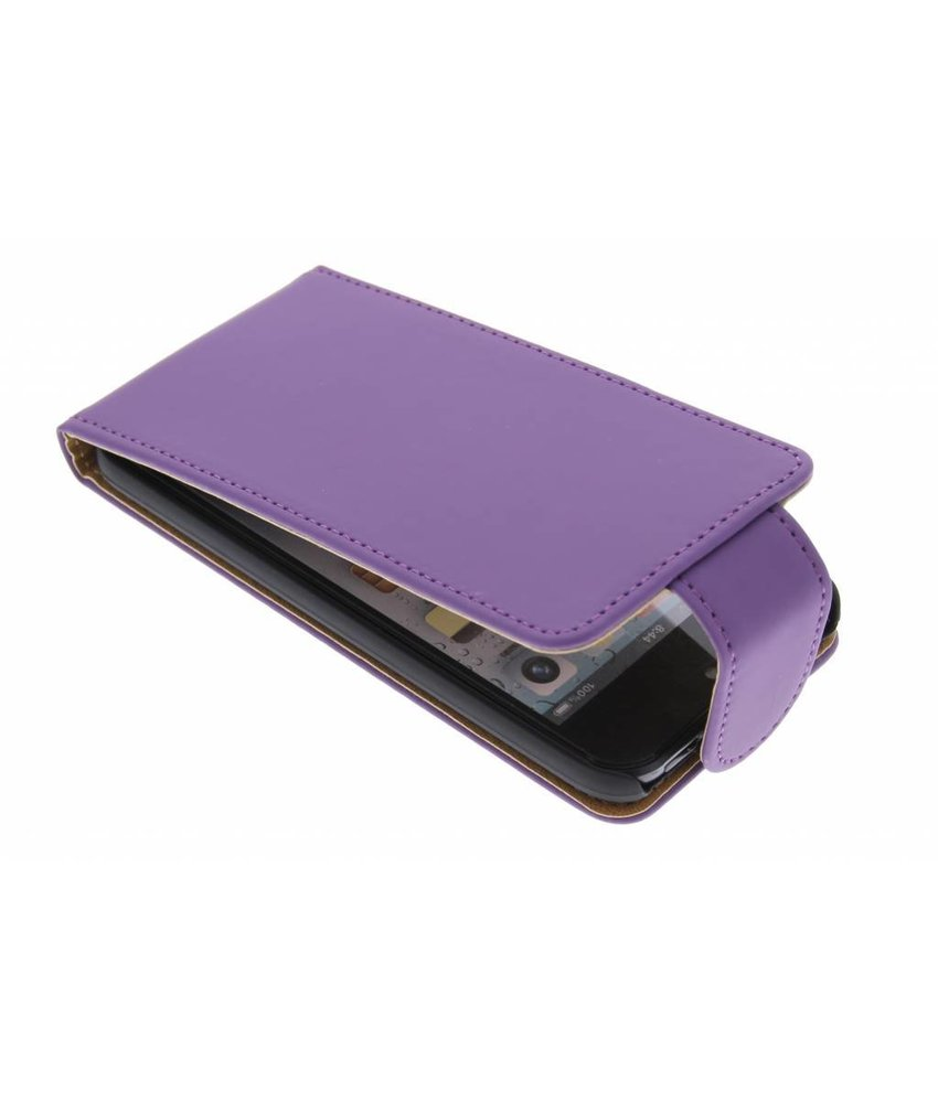 Paars classic flipcase iPod Touch 5g / 6