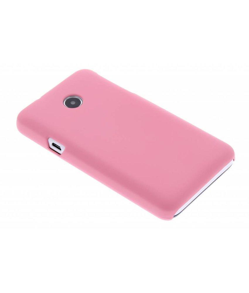 Roze effen hardcase hoesje Huawei Ascend Y330