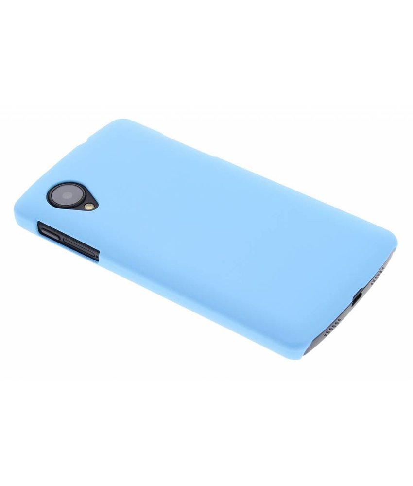 Turquoise effen hardcase hoesje LG Nexus 5