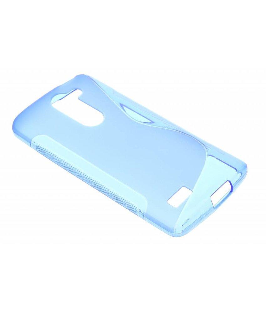 Blauw S-line TPU hoesje LG L Bello / L80 Plus