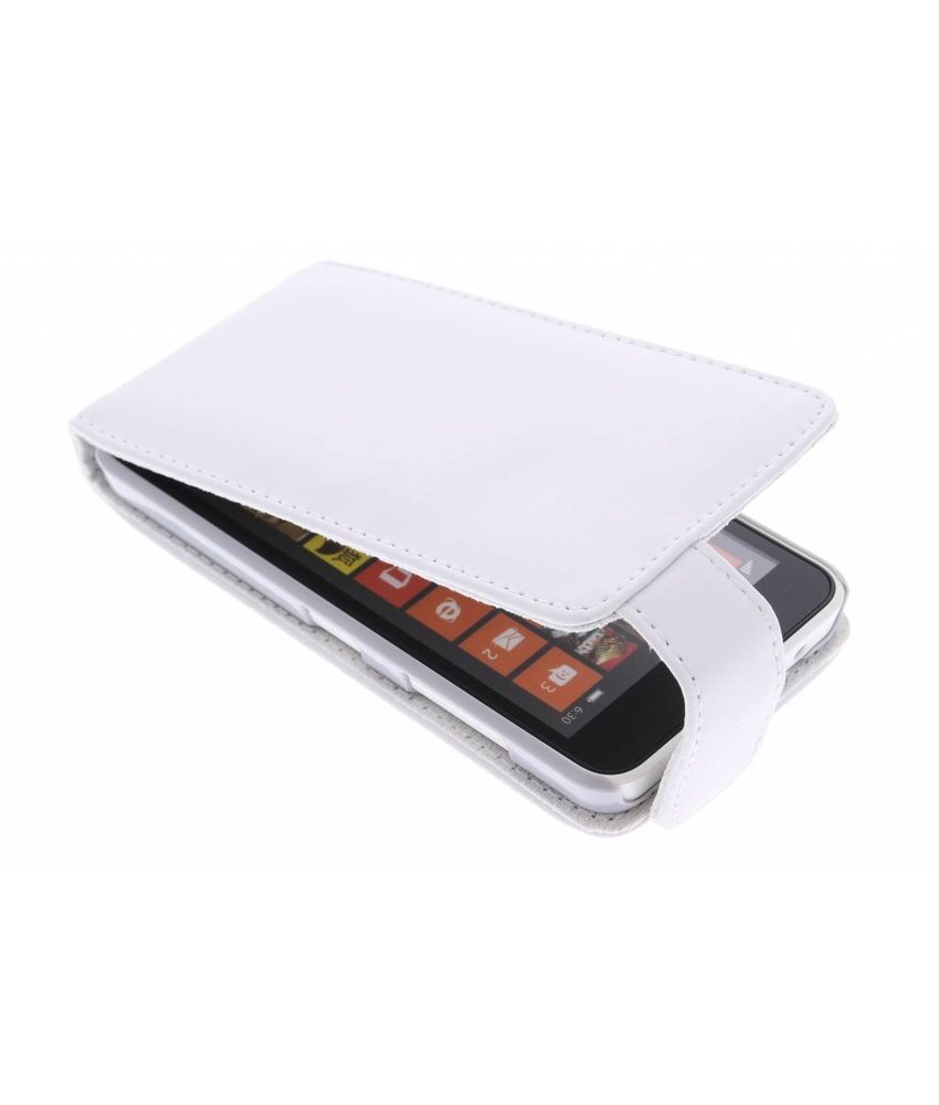 Wit stijlvolle flipcase Nokia Lumia 630 / 635