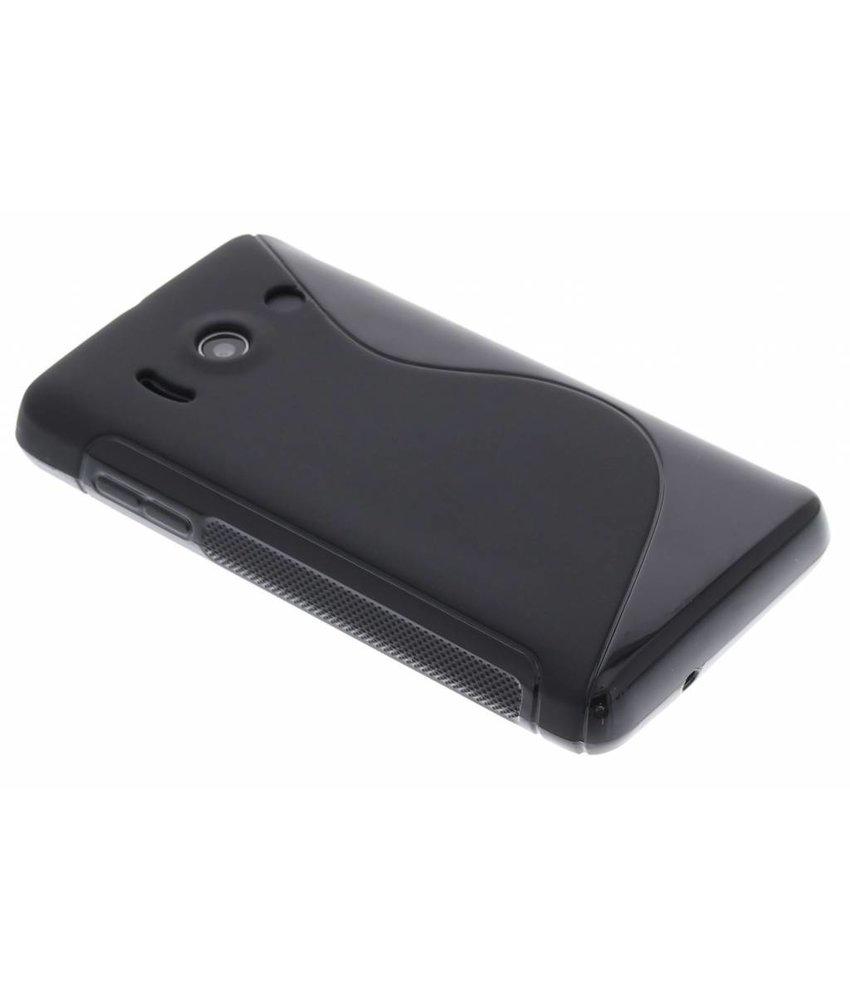 Zwart S-line TPU hoesje Huawei Ascend Y300