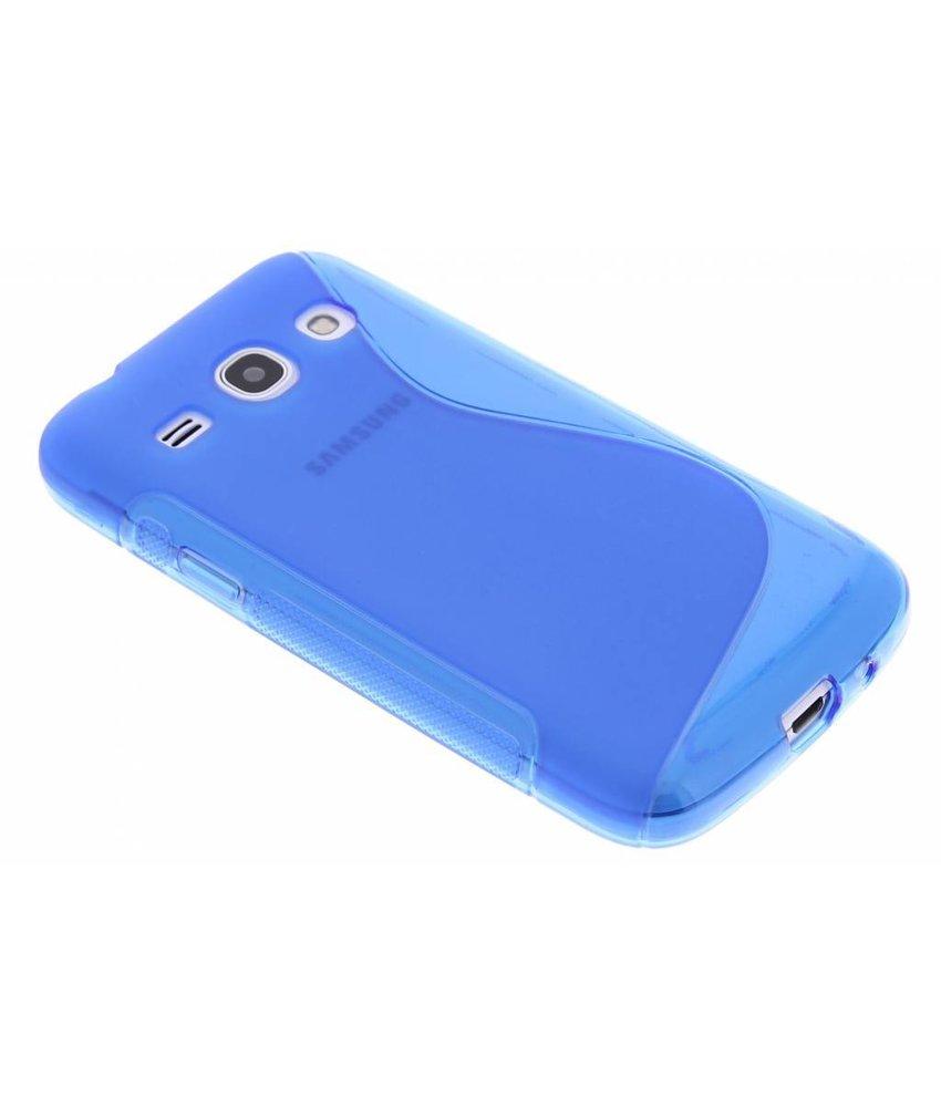 Blauw S-line TPU hoesje Samsung Galaxy Core Plus