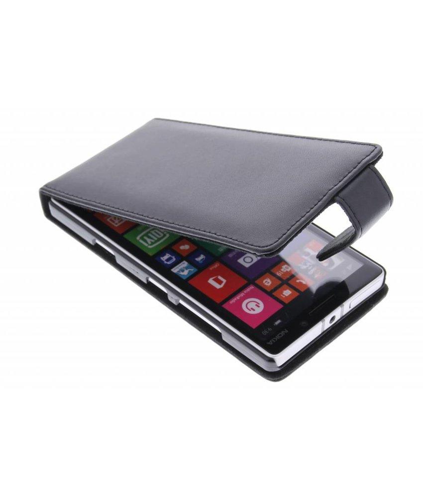 Zwart stijlvolle flipcase Nokia Lumia 930
