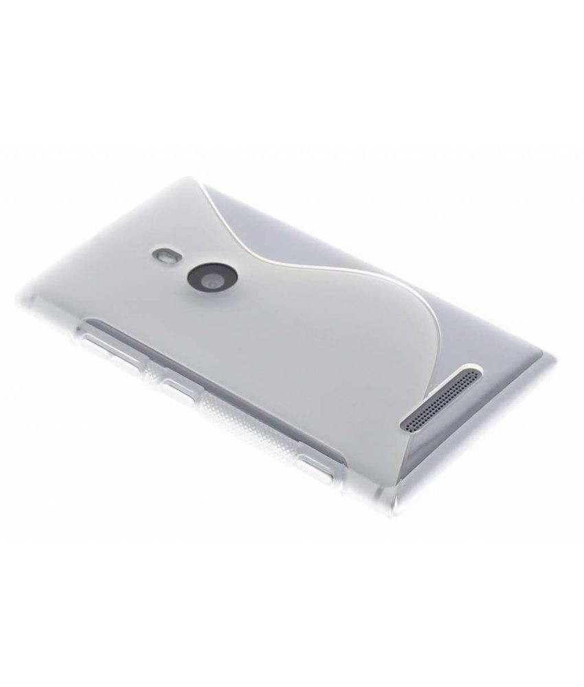 Transparant S-line TPU hoesje Nokia Lumia 925