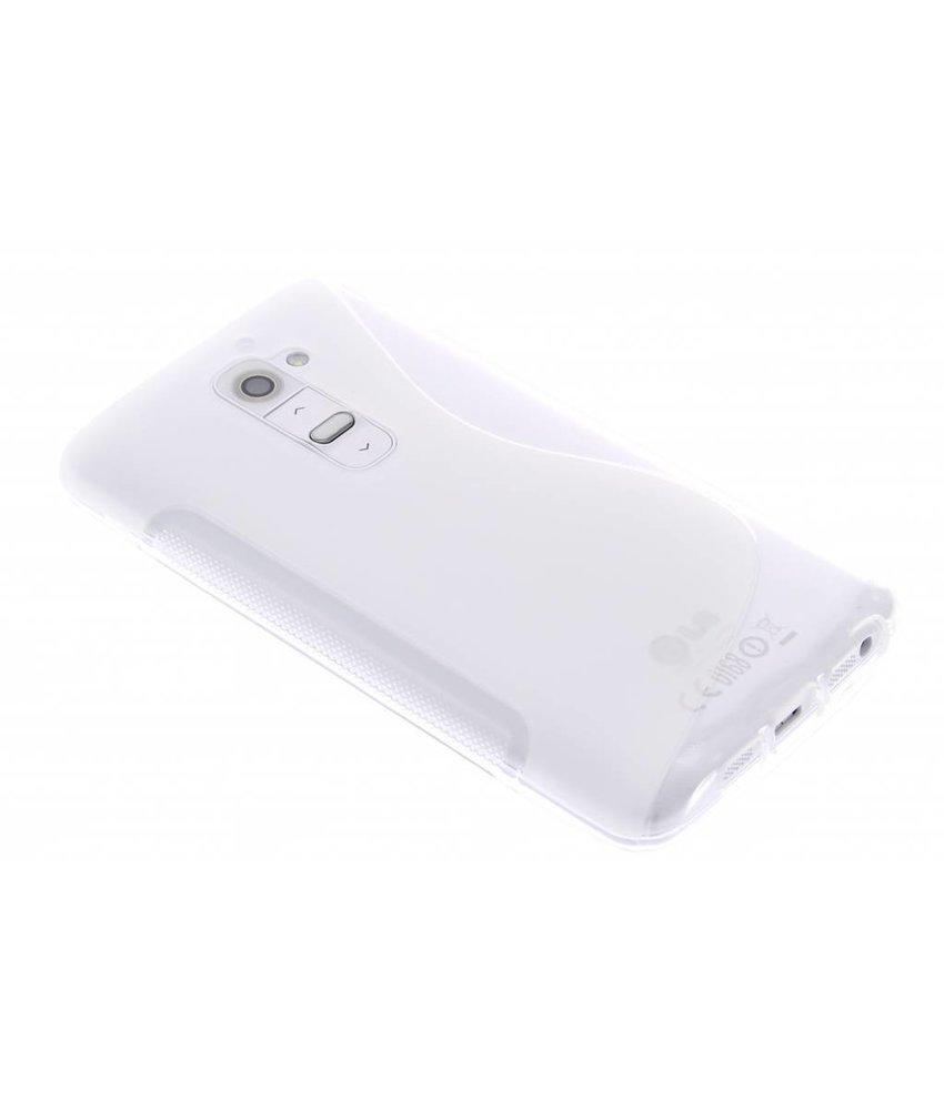 Transparant S-line TPU hoesje LG G2