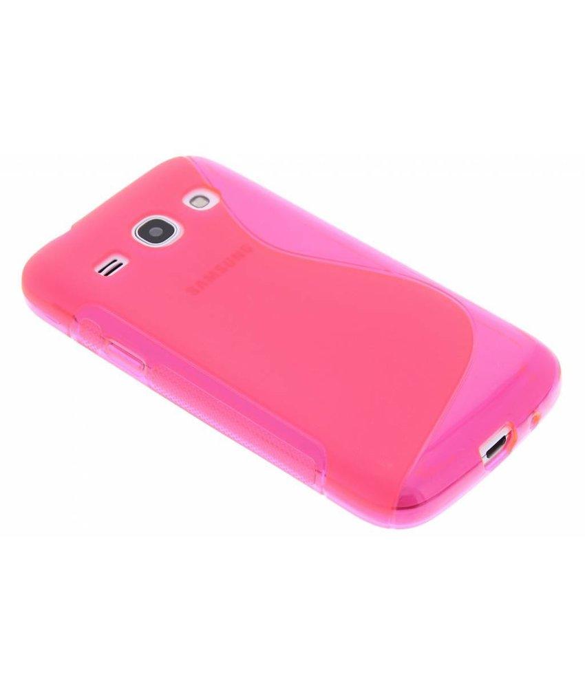Rosé S-line TPU hoesje Samsung Galaxy Core Plus