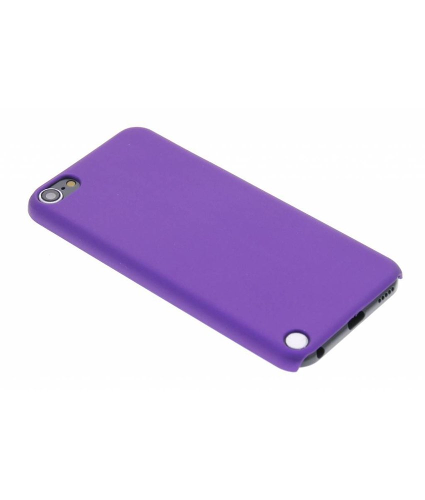 Paars effen hardcase iPod Touch 5g / 6