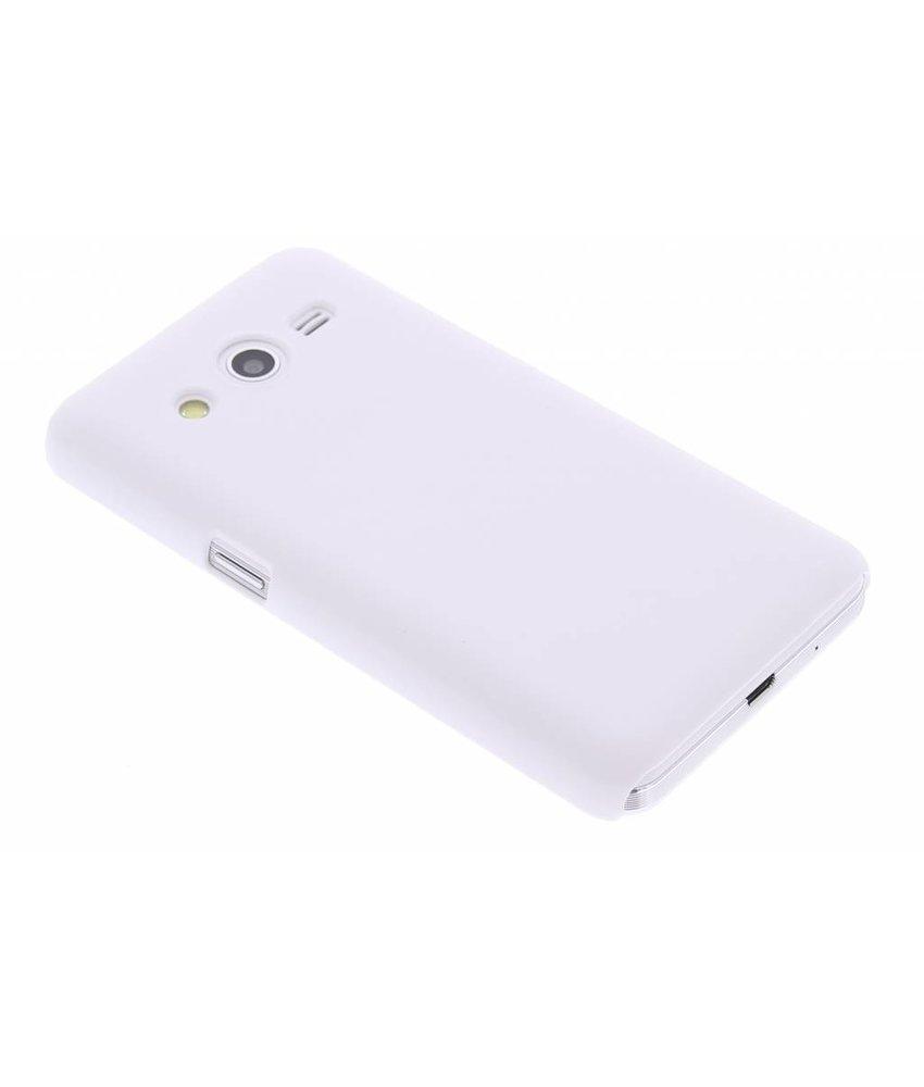Wit effen hardcase hoesje Samsung Galaxy Core 2