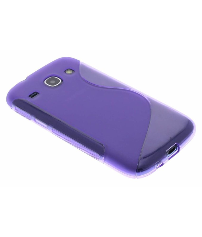 Paars S-line TPU hoesje Samsung Galaxy Core