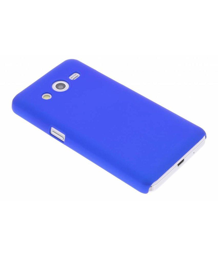 Blauw effen hardcase hoesje Samsung Galaxy Core 2