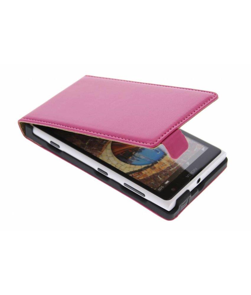 Fuchsia luxe flipcase Nokia Lumia 1020