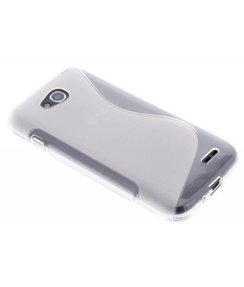 Transparant S-line TPU hoesje LG L90