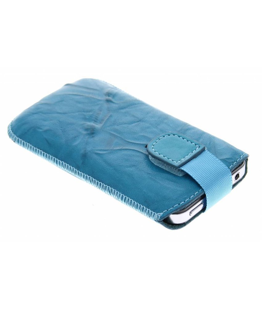 Mobiparts Uni Pouch Smoke maat L - turquoise