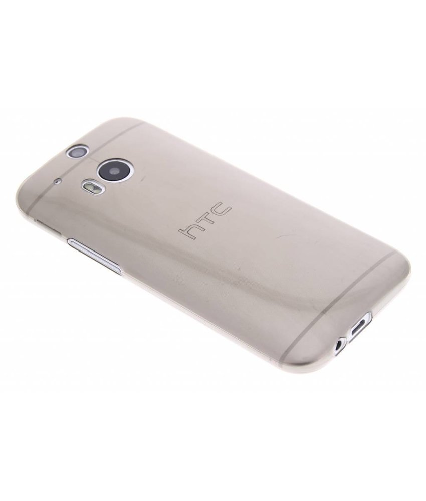 Ultra thin transparant TPU hoesje HTC One M8 / M8s