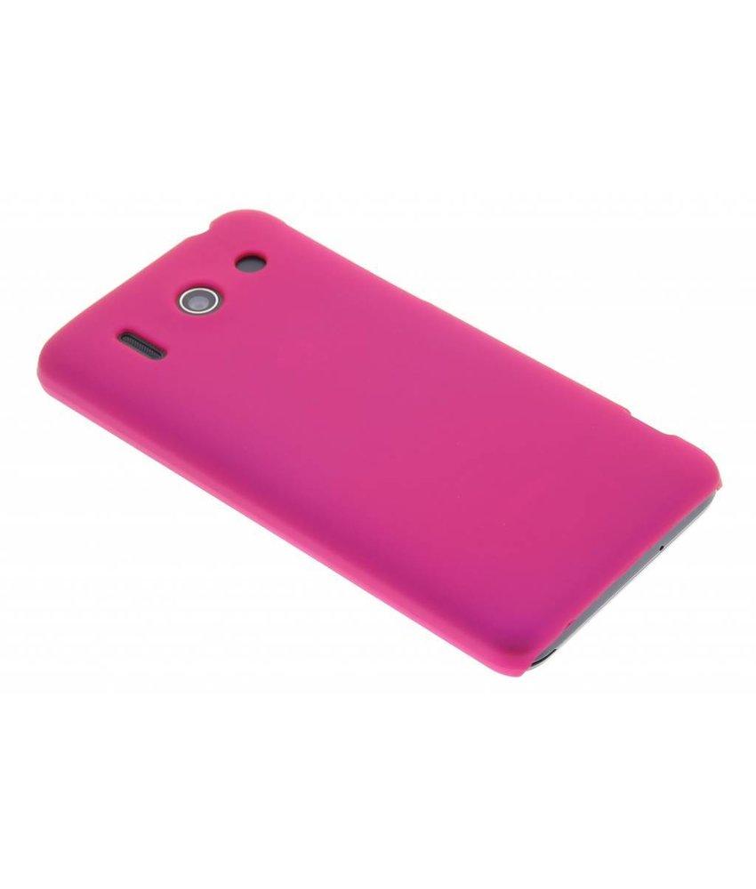 Fuchsia effen hardcase hoesje Huawei Ascend G510