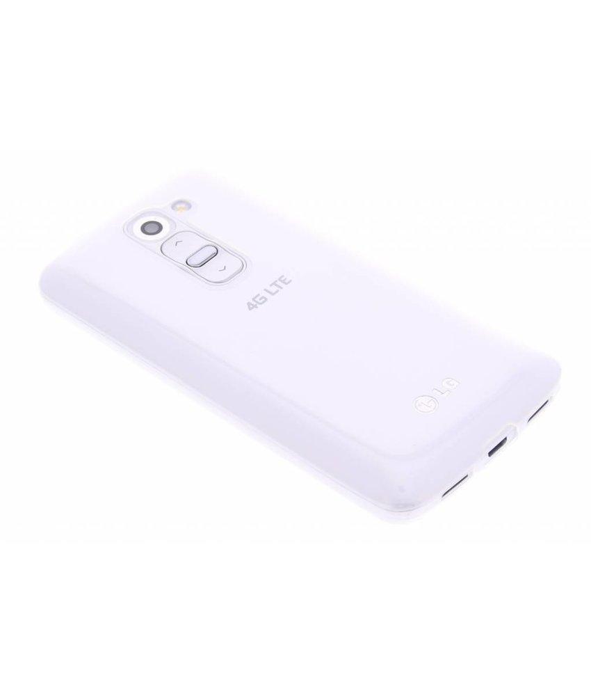 Ultra thin transparant TPU hoesje LG G2 Mini
