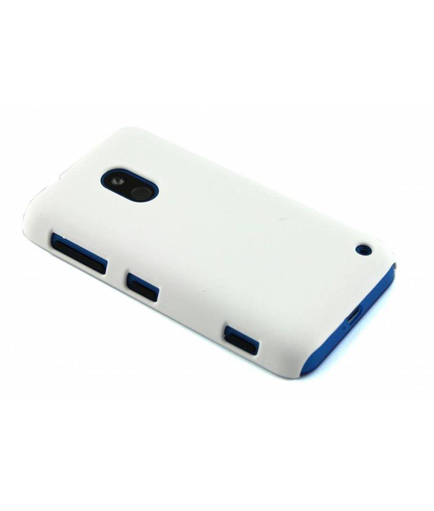 Wit effen hardcase Nokia Lumia 620