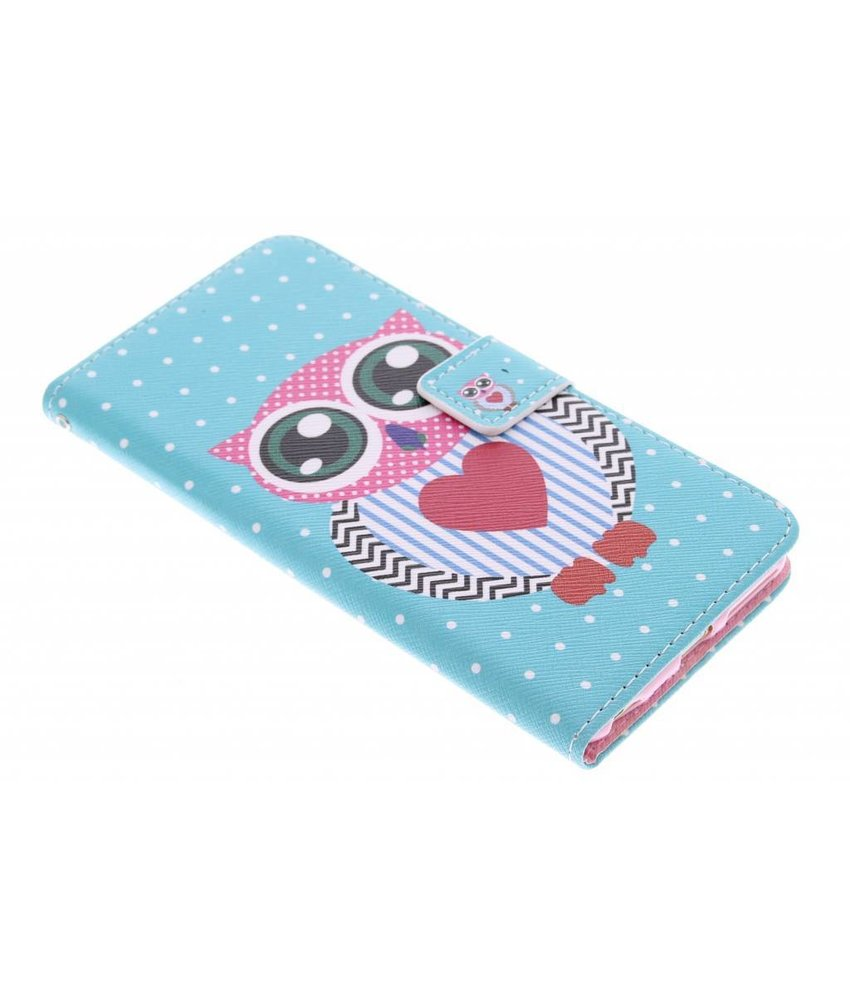 Design TPU booktype hoes iPhone 6(s) Plus
