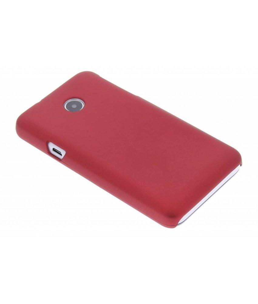 Rood effen hardcase hoesje Huawei Ascend Y330
