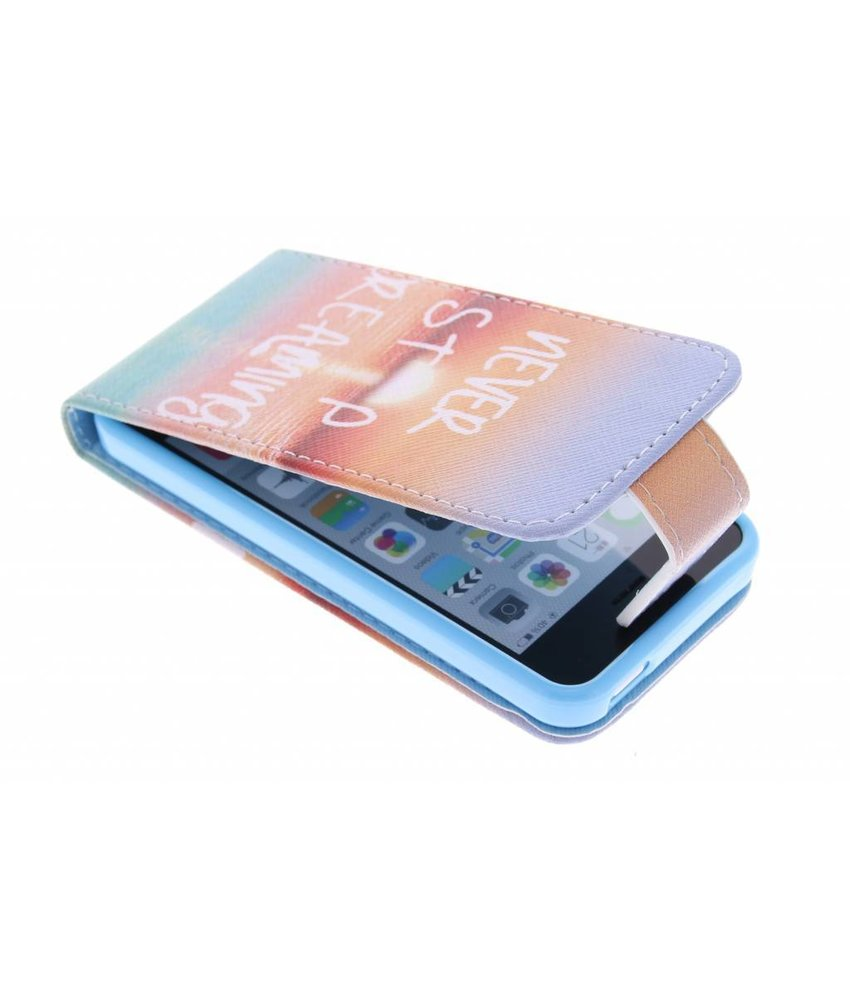 Design TPU flipcase iPhone 5c