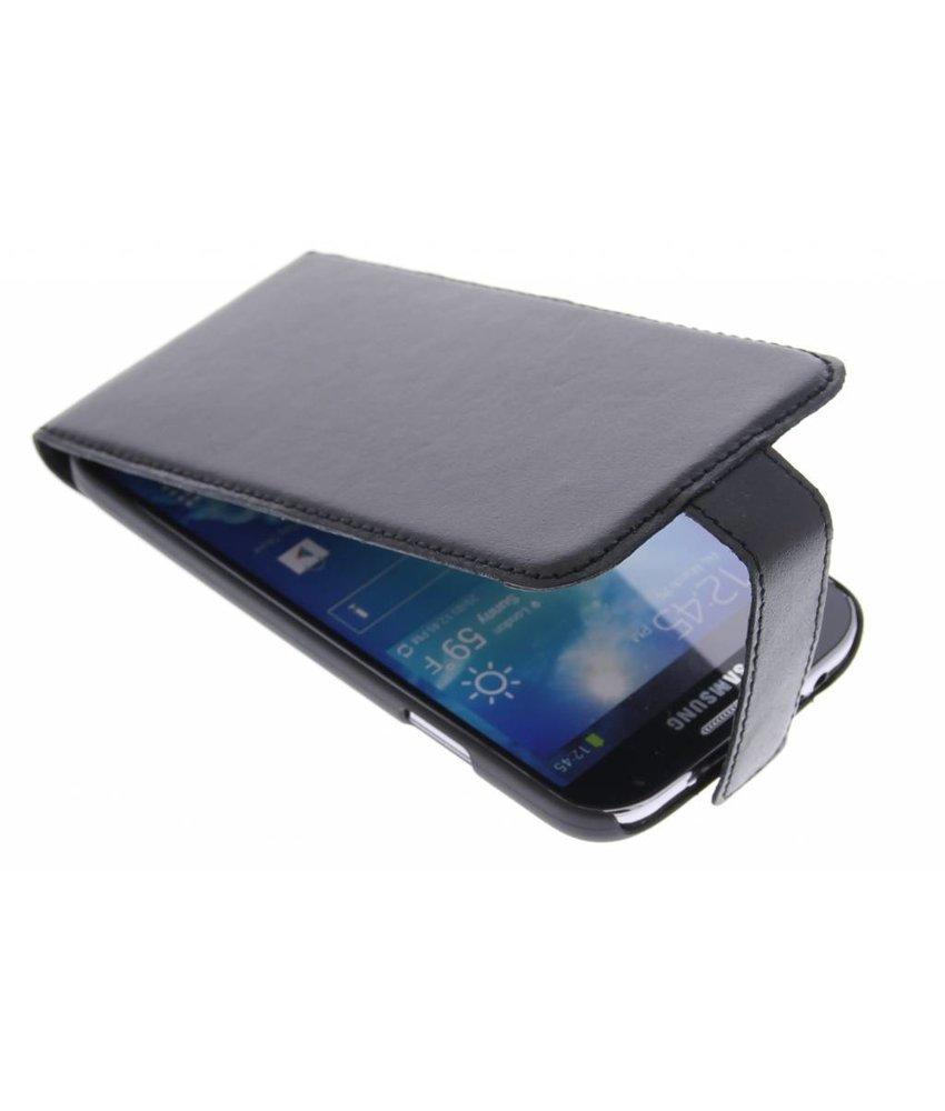 Valenta Flip Malta Samsung Galaxy S4 - zwart