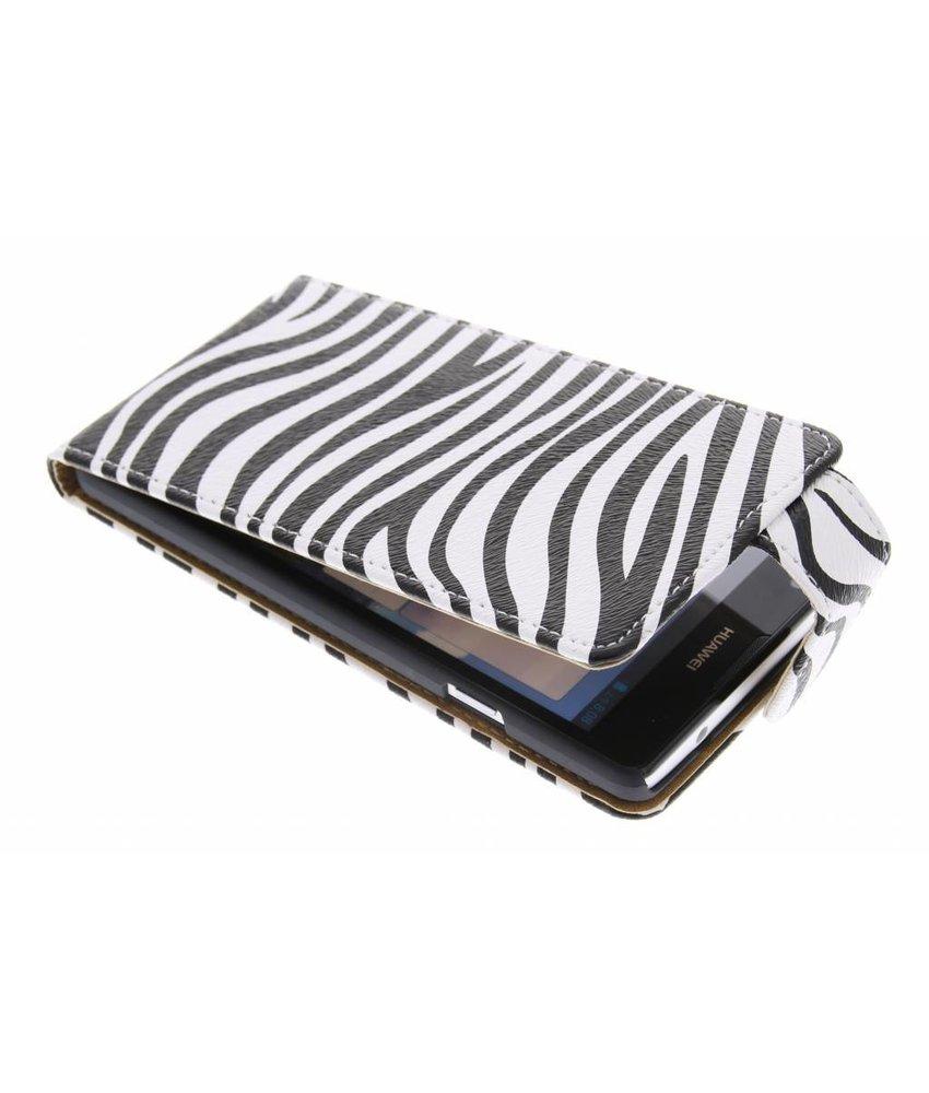 Zebra flipcase Huawei Ascend G700