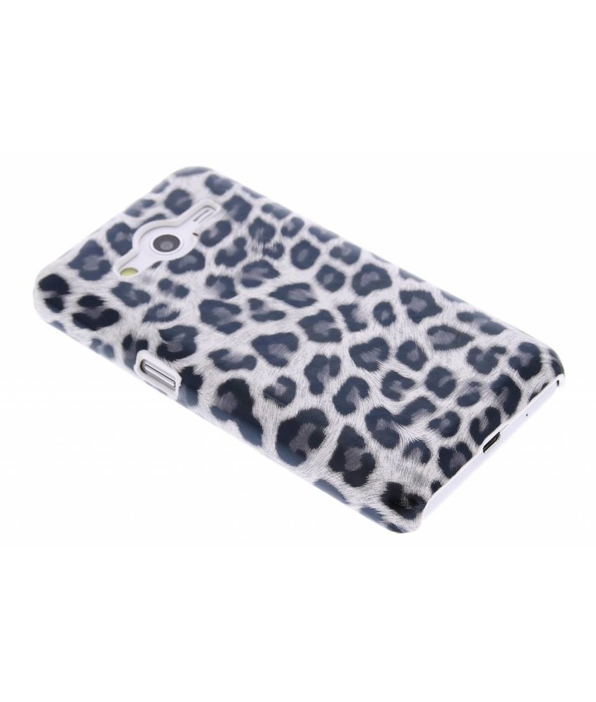 Grijs luipaard hardcase Samsung Galaxy Core 2