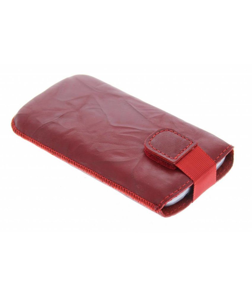 Mobiparts Uni Pouch Smoke maat XL - rood