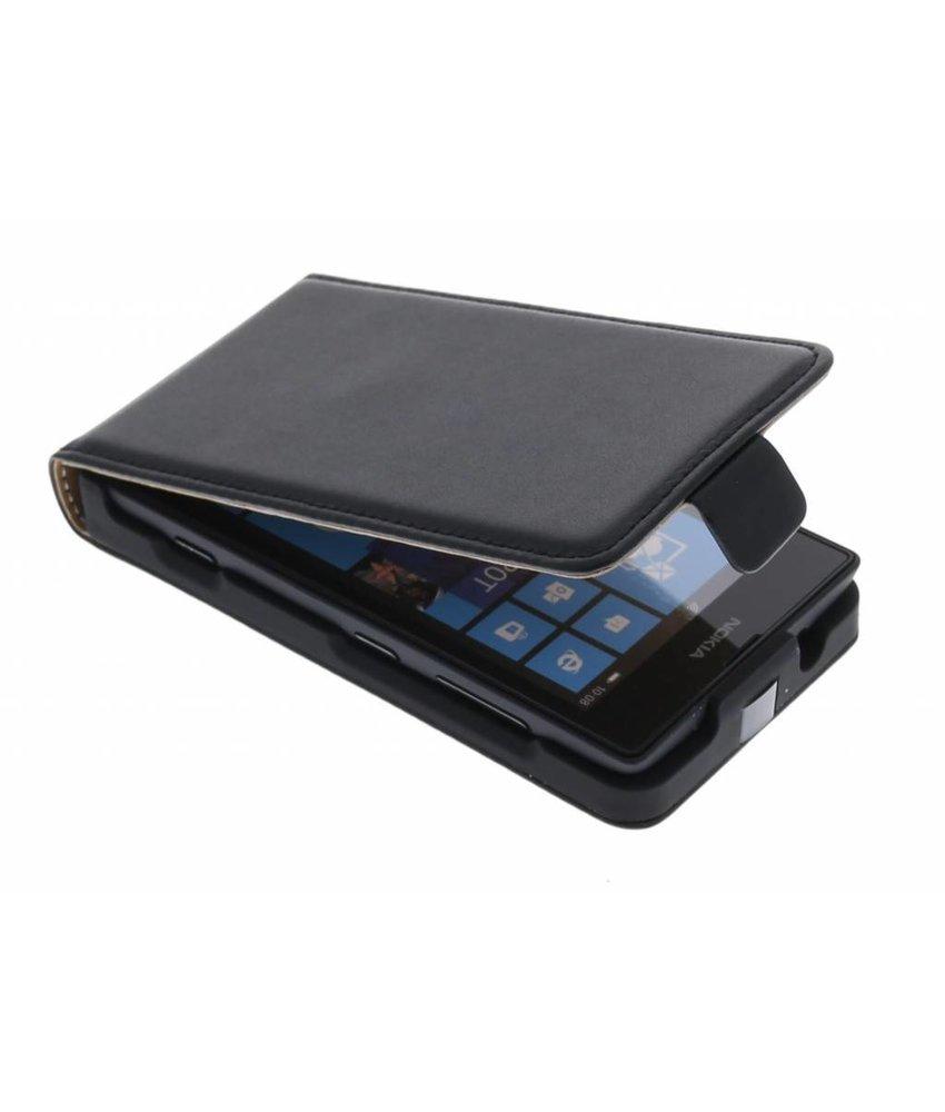Zwart luxe flipcase Nokia Lumia 520