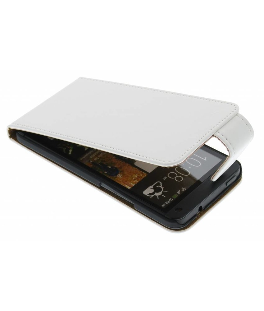 Wit classic flipcase HTC One