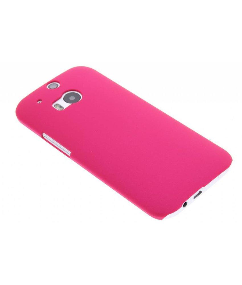 Fuchsia effen hardcase HTC One M8 / M8s