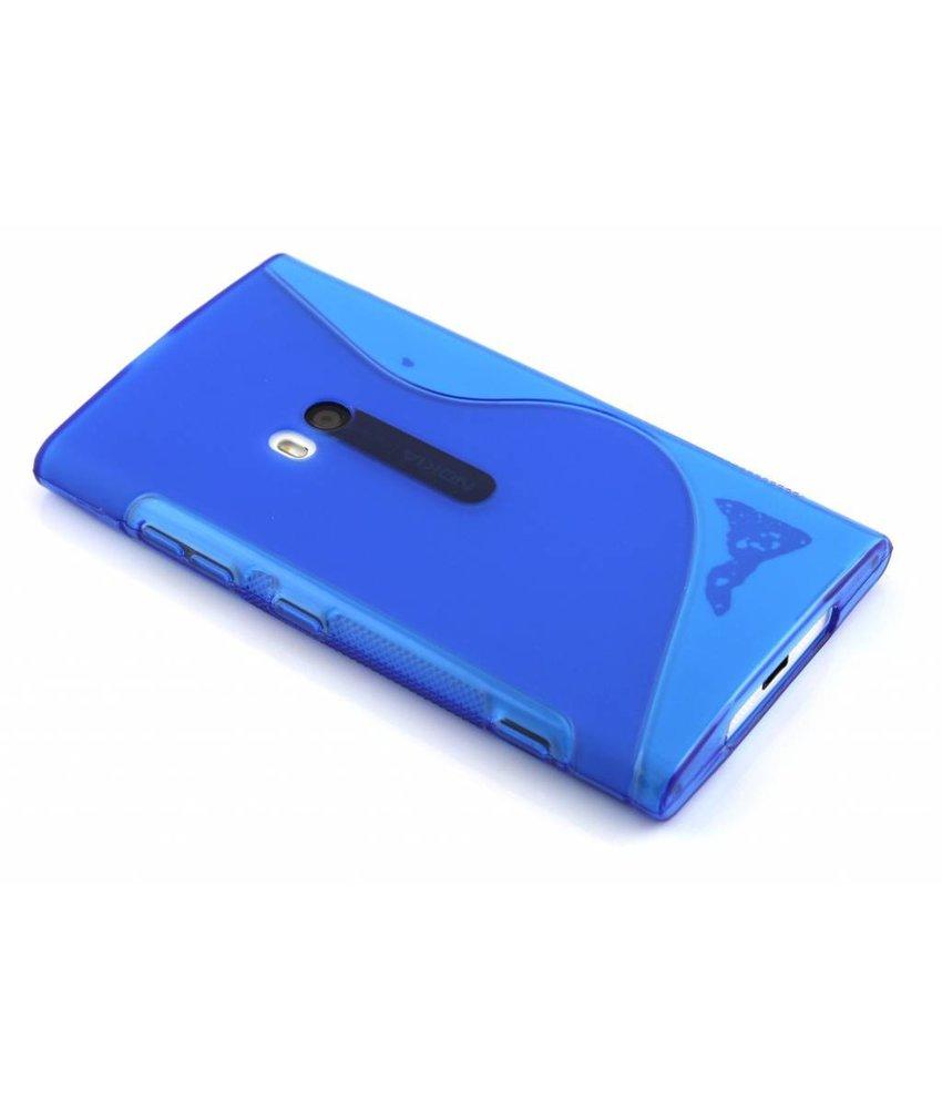 Blauw S-line TPU hoesje Lumia 920