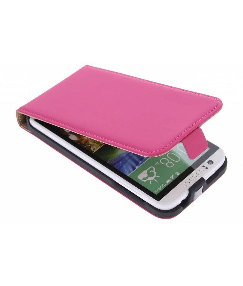 Mobiparts Premium flipcase HTC Desire 510 - Pink