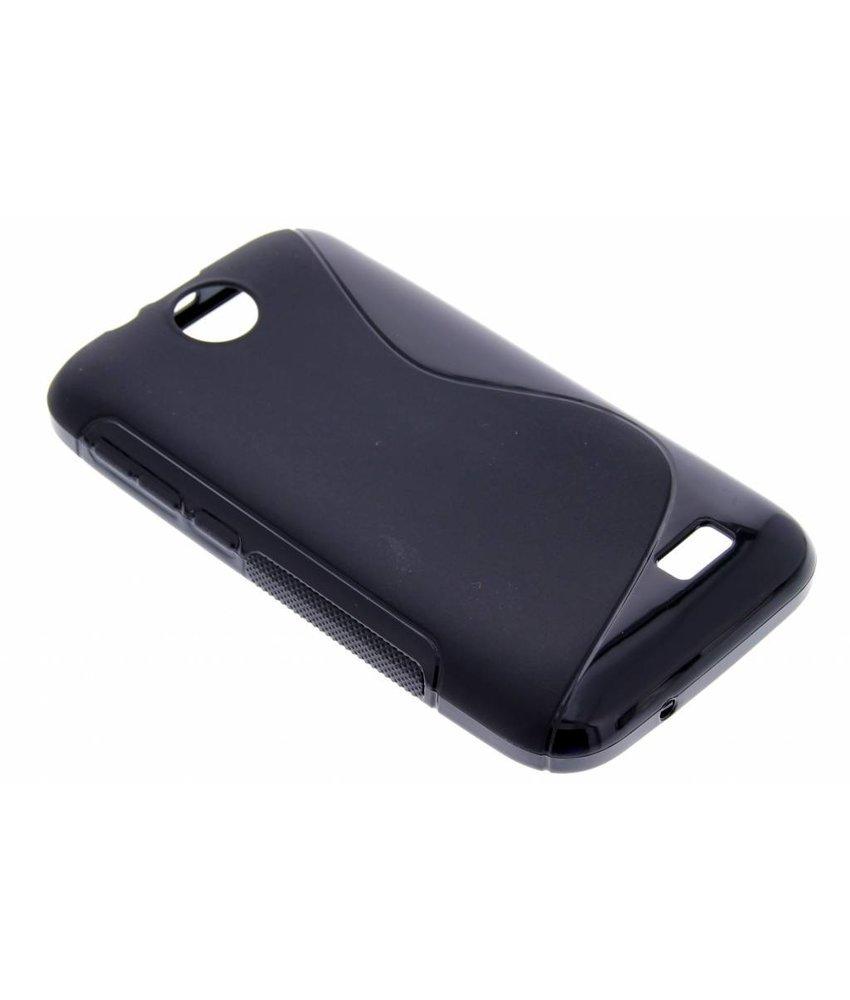 Zwart S-line TPU hoesje HTC Desire 310