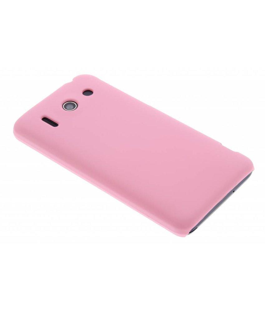 Roze effen hardcase hoesje Huawei Ascend G510