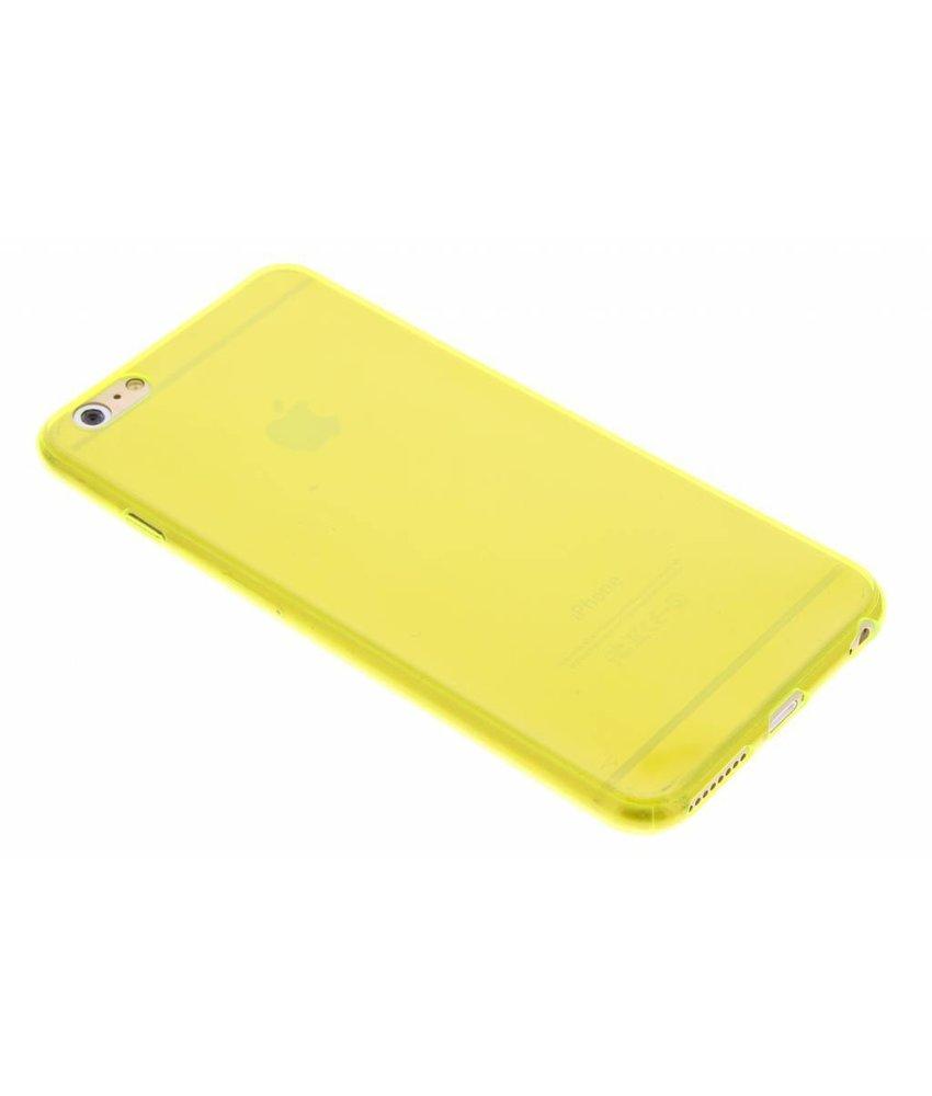 Ultra thin transparant TPU hoesje iPhone 6(s) Plus