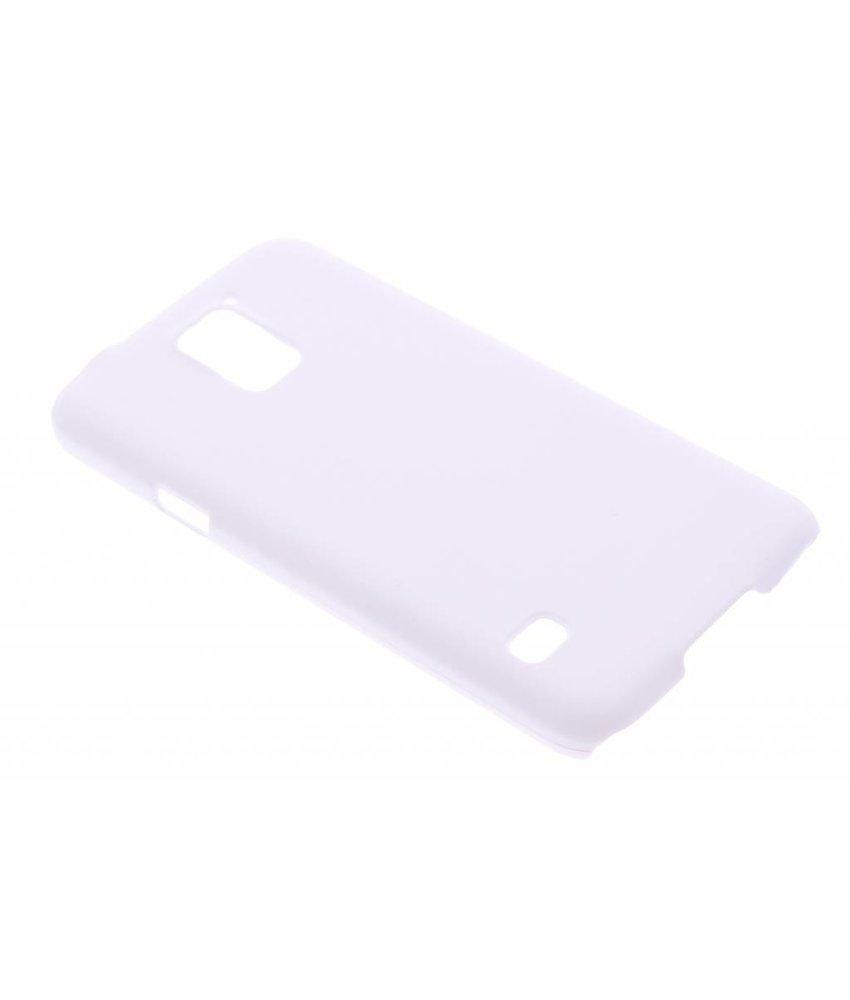 Wit effen hardcase hoesje Samsung Galaxy S5 (Plus) / Neo