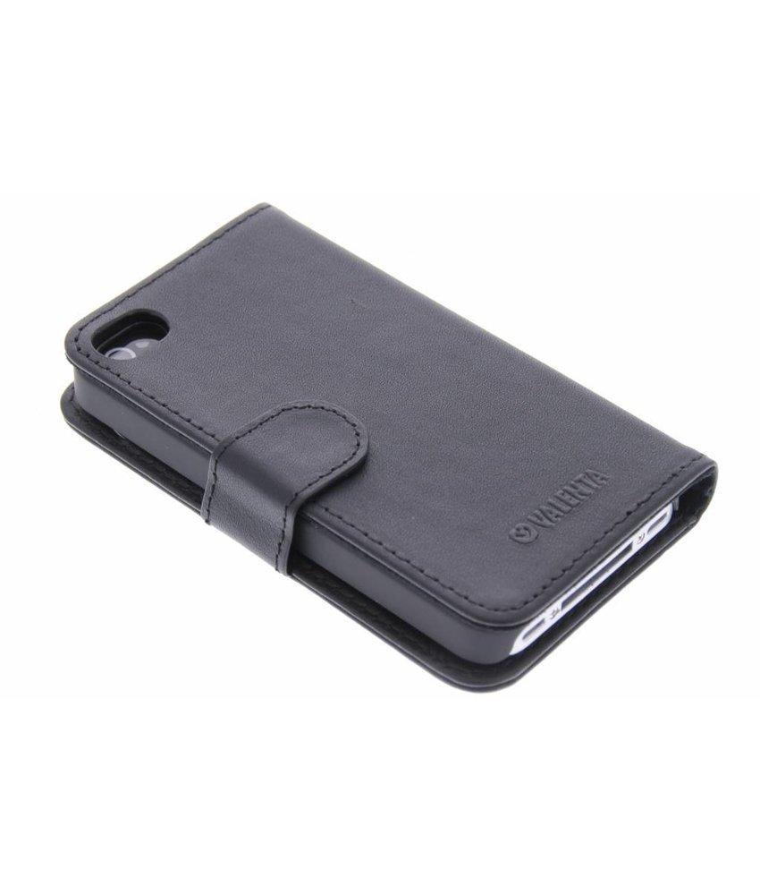 Valenta Booklet Classic Luxe iPhone 4 / 4s - zwart