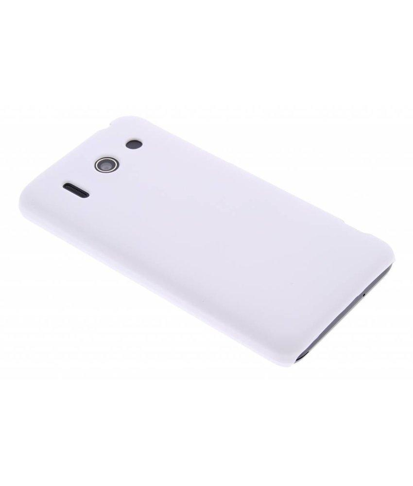 Wit effen hardcase hoesje Huawei Ascend G510